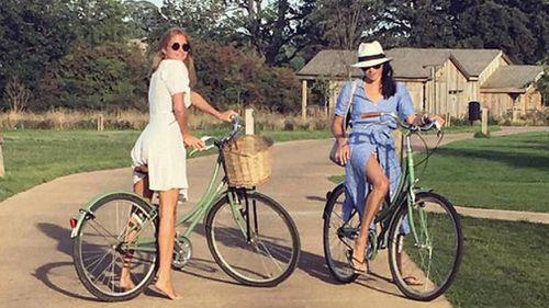 Millie Macintosh and Meghan went on a weekend away in 2016. (Instagram)