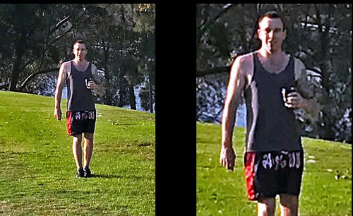 This is the man police are searching for after the indecent assaults on the Bay Run. (NSW Police)
