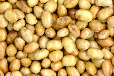 Soy nuts: 60mcg of iodine per 1/4 cup