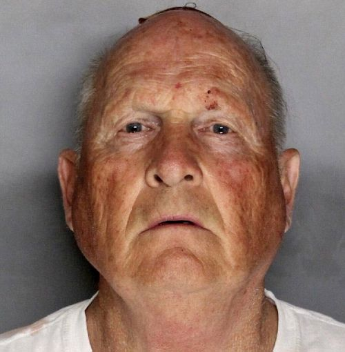 The booking photo of Joseph James DeAngelo, 72, in Sacramento, California. (EPA)