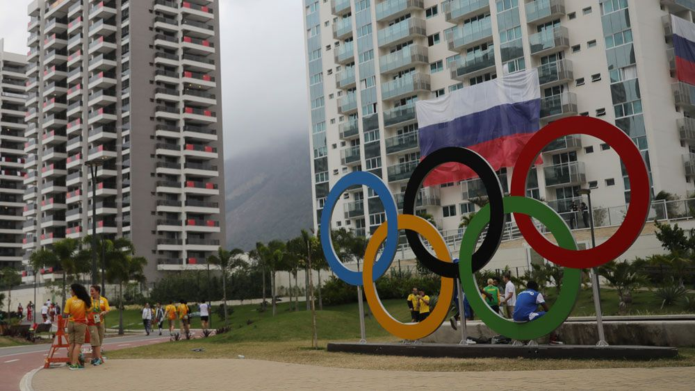 The Olympic Village. (AFP)