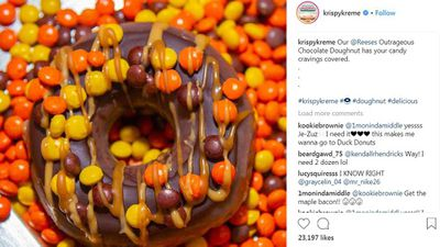 Krispy Kreme teams up with Reese's for bold doughnut