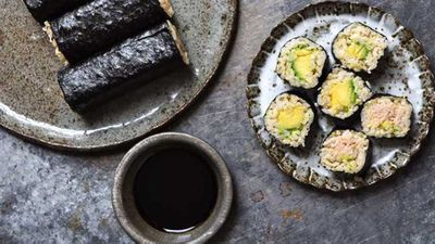 "<a href=""http://kitchen.nine.com.au/2017/04/20/13/24/sushi-sushis-easy-at-home-brown-rice-sushi"" target=""_top"">Sushi Sushi's easy at home brown rice sushi</a> recipe"