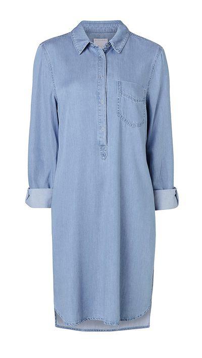 "<a href=""http://www.witchery.com.au/shop/woman/clothing/dresses/60182293/Denim-Shirt-Dress.html"" target=""_blank"">Dress, $149.95, Witchery</a>"