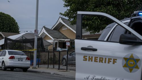 The San Bernardino sheriff's department and volunteers scoured the area, and so did Ms Cho's friends.