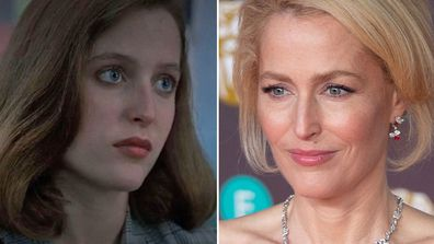 Gillian Anderson as Dana Scully on The X Files