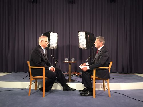 Treasurer Scott Morrison spoke exclusively with Nine Political Editor Chris Uhlmann on the TODAY Show this morning. (9NEWS)
