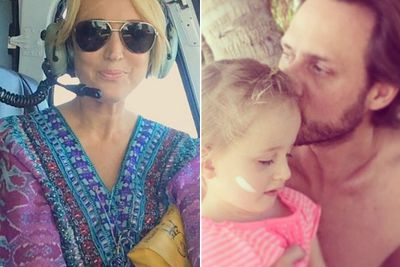 "While the rest of us are freezing our tushes off, KIIS FM host Jackie O has been sunning herself in Fiji with daughter Kitty and husband Lee Henderson.<br/><br/>It's a far cry from Jackie's emotional confession on air last week that she and hubby Lee 'had times when we were going to call it quits'.<br/><br/>Check out her holiday Insta-snaps and a sneak peek at the resort!<br/><br/>Author: Adam Bub. <b><a target=""_blank"" href=""http://twitter.com/TheAdamBub"">Follow on Twitter</a></b>. Approved by Amy Nelmes.<br/><br/>Images: Instagram/Kyle and Jackie O."
