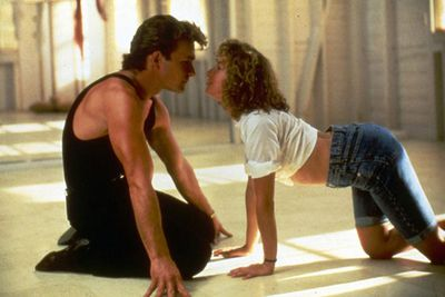 'Teen movie' you ask? Duh, it totally fits the category: 18-year-old 'Baby' (Jennifer Grey) heads to a holiday resort with her boring family, and experiences a sort of coming-of-age as she falls for hot dance teacher Johnny, who's just the sort of hunky man to take her well out of the corner...