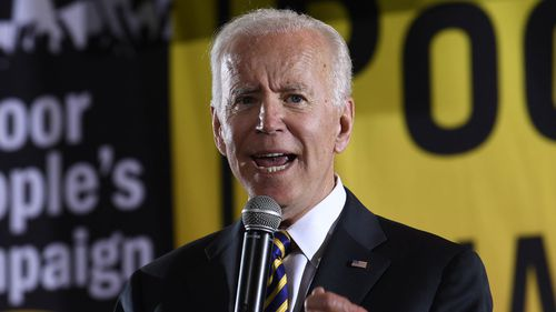 Joe Biden has described Donald Trump's actions as 'clear-cut corruption'.