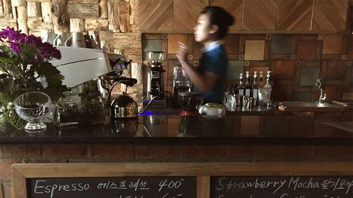 Coffee prices are skyrocketing in North Korea.