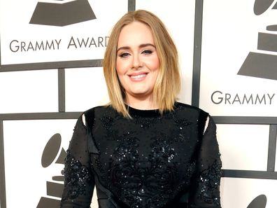 Adele attends The 58th GRAMMY Awards at Staples Center on February 15, 2016 in Los Angeles, California.