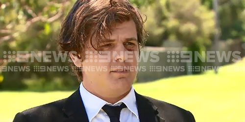 Andrew Dixon has spoken out following the brutal attack. (9NEWS)