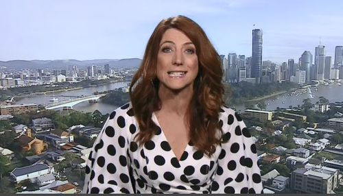 Triple M Brisbane host Robin Bailey said teaching children about sexting was important. Picture: 9NEWS