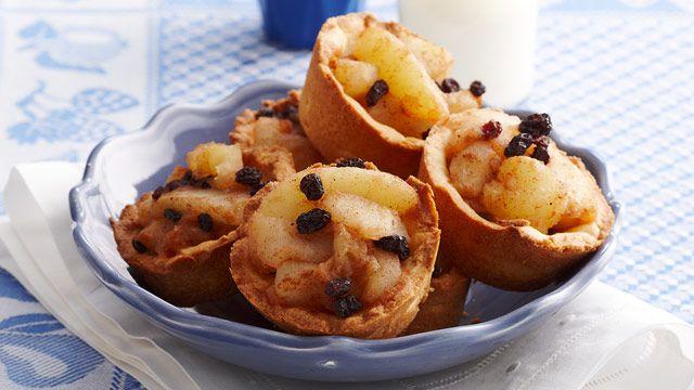 Gluten-free apple tarts