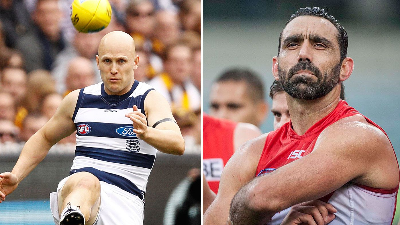 Ablett and Goodes