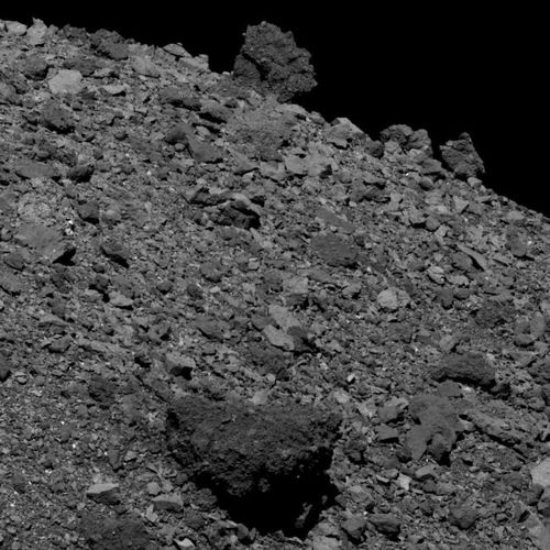 OSIRIS-REx captured this image of the asteroid Bennu on April 12, 2019. NASA/Goddard/University of Arizona