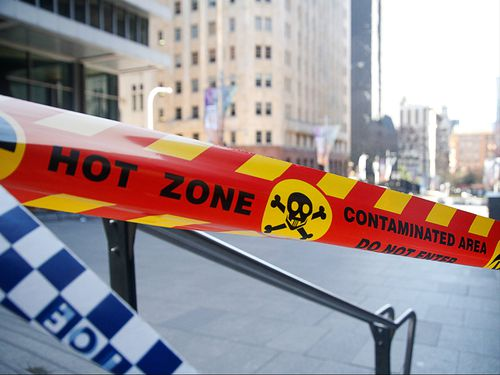 The Sydney CBD is open again after a gas leak shut down the area on Friday. (AAP)
