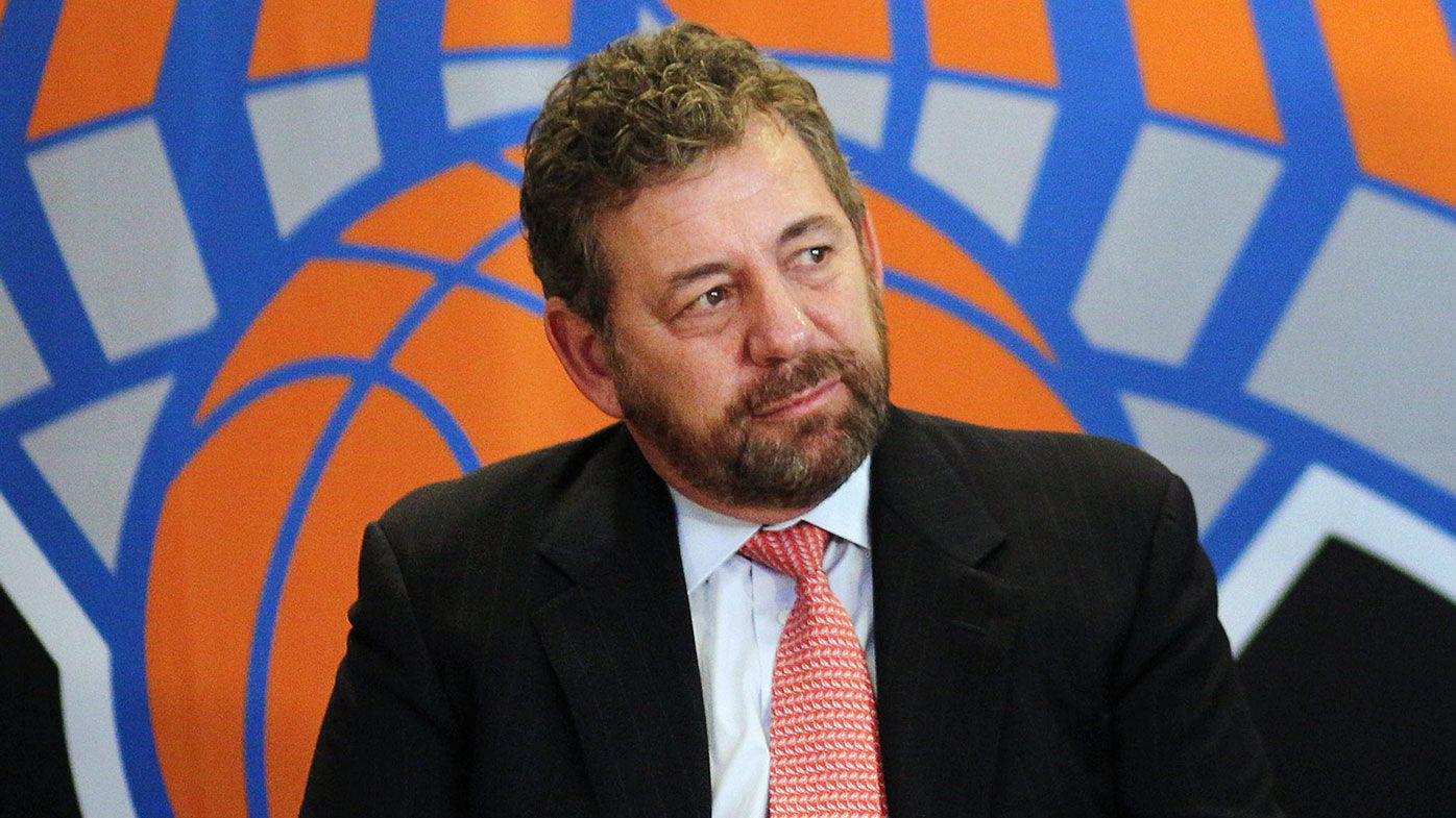 New York Knicks owner James Dolan tests positive for coronavirus