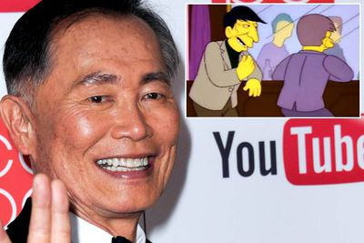 George Takei has appeared in <i>The Simpsons</i> three times (in seasons two, 10 and 13), playing three different characters. <br/><br/>But he turned down to the chance to play himself in 'Marge vs the Monorail' — one of the show's best-ever episodes — so the role was offered to fellow <i>Star Trek</i> star Leonard Nimoy instead (who's also done multiple stints).