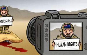 State-owned Chinese newspaper publishes jeering cartoon mocking Australia's human rights record