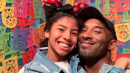 Kobe Bryant with daughter Gianna.