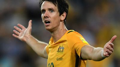 Robbie Kruse: Didn't have much time but won the penalty for Australia's third goal - 8