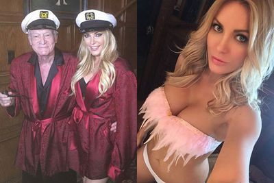 Hugh and Crystal got back together in 2012 and wed in a small ceremony in December 2012. Crystal remains Hugh Hefner's third wife to this day.