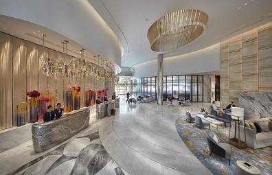Crown Towers Sydney lobby