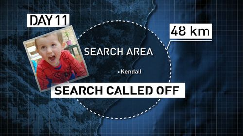 The search was called off on day eleven. (9NEWS)