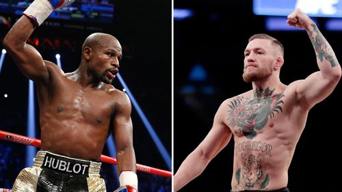 Floyd Mayweather and Conor McGregor will go head to head on August 27. (AAP)