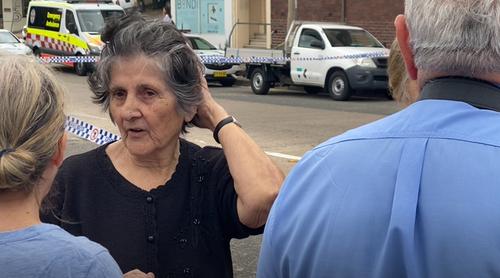Bondi Beach house collapse woman