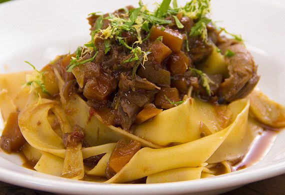 Justine Schofield's easy lamb shank ragu with pasta