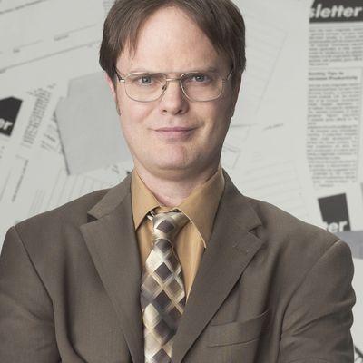 Rainn Wilson as Dwight Schrute: Then