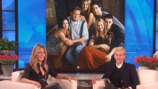 Jennifer Aniston opens up about Friends reunion