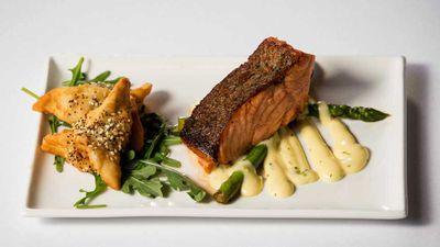 "Recipe: <a href=""https://kitchen.nine.com.au/2017/11/14/12/41/family-food-fight-the-sharouks-spinach-sambouski"" target=""_top"">FFF's the Sharouk's spinach sambouski</a>"