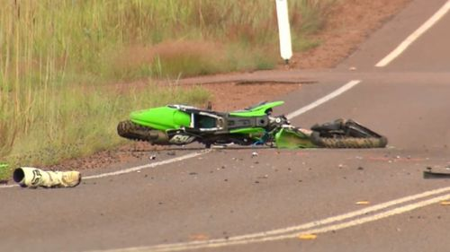 The fatal collision occurred about 7.30pm yesterday. (9NEWS)