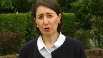 Gladys Berejiklian said she was thankful more lives hadn't been lost in the current blazes.