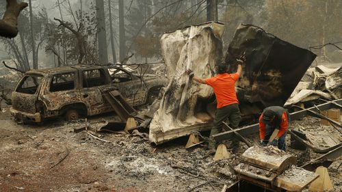 A list of about 100 names has been released including those still missing in the wildfires - many aged in their 80s and 90s.