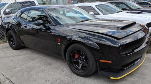Rare Dodge Challenger, valued at $320,000, missing after car dealership heist