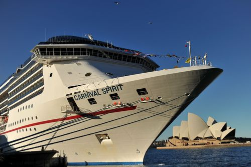 A man on the Carnival Spirit ship with his family says he was wrongfully accused of assault and pedophilia. Picture: AAP