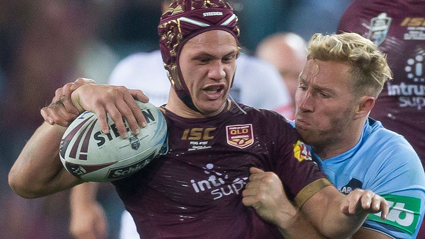 State of Origin: Billy Slater passes Queensland Maroons baton to Kalyn Ponga