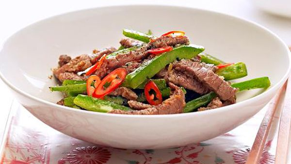 a45e1f4147f1 Stir-fried beef strips with capsicum - 9Kitchen