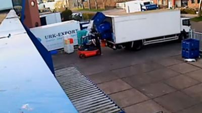 Click through to watch the best forklift fails.