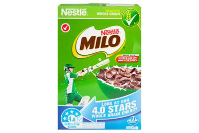 Nestle Milo: 2 teaspoons of sugar