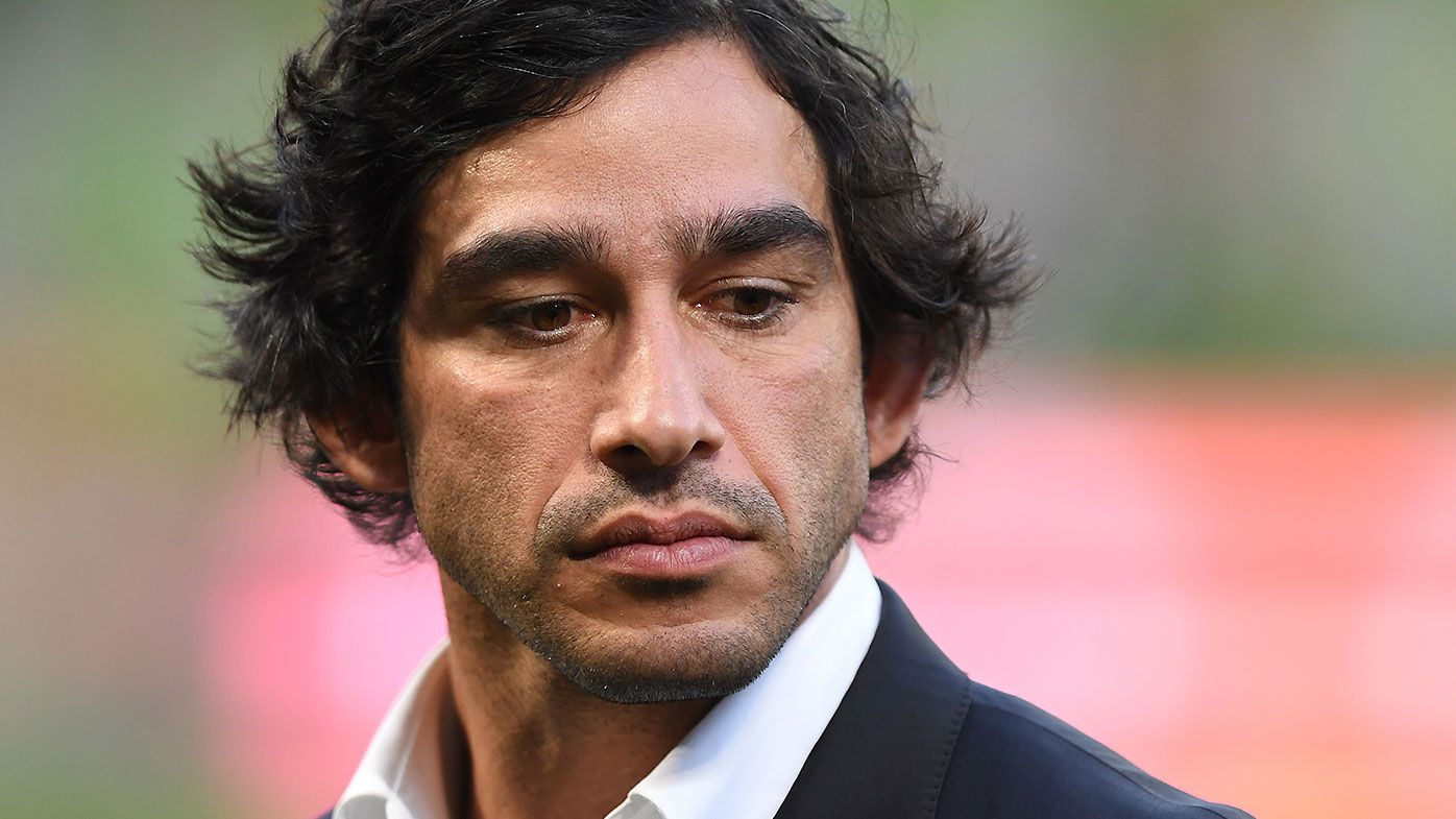 The night Johnathan Thurston 'cried his eyes out' while playing for Australia