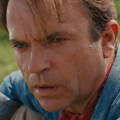 Sam Neill as Dr Alan Grant: Then