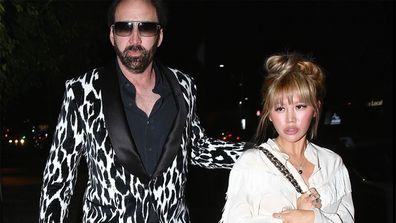 Nic Cage and Erike Koike.