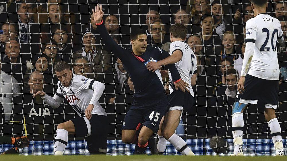 Newcastle stun Spurs to chalk up shock win