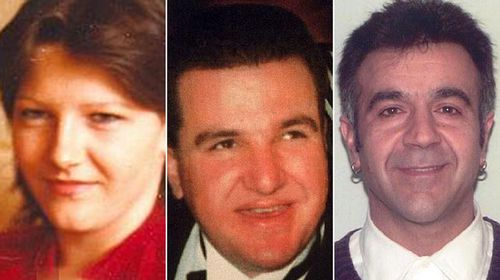 Victoria Police have offered $3 million in rewards to find those responsible for the deaths of Maryanna Lanciana, Dimitrios Belias, and George Germanos. (Supplied)